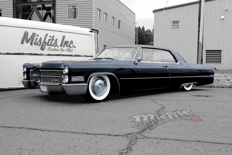 Deron's '66 Cadillac website logo